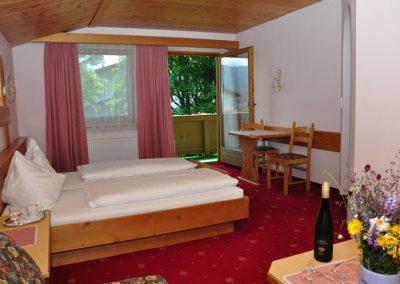 Doppelzimmer-Gartenblick