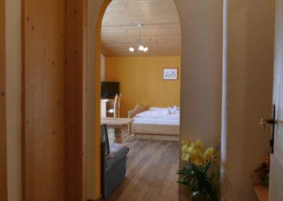Mundeblick Doppelzimmer mit Chouch Dusche/WC getrennt